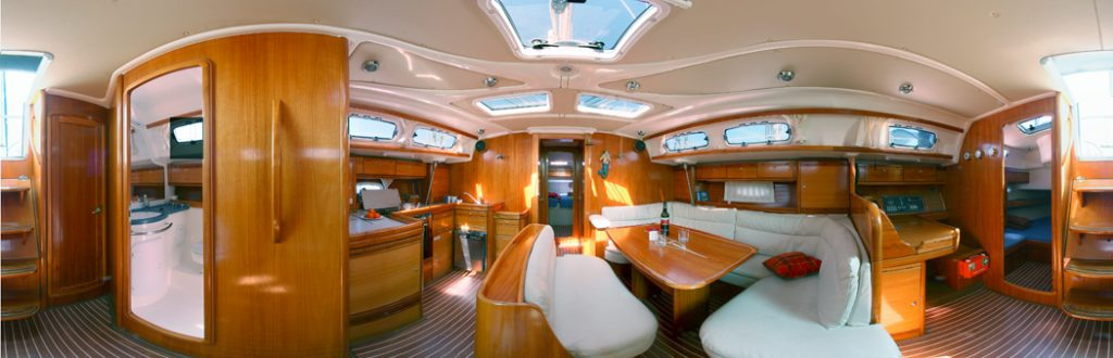 360 Grad Panorama Fotografie für die Yachten