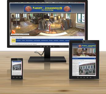 Webdesign Webseiten Erstellung für den bereich Ahrensburg