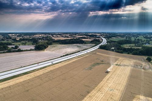 Drohnenfotografie für Ihr unternehmen in Schleswig Holstein