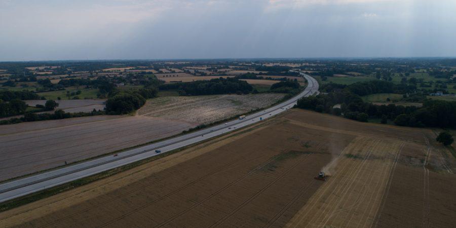Schleswig Holstein Drohnenfotografie Bildbearbeitung